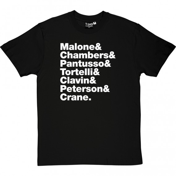Cheers Line-Up T-Shirt