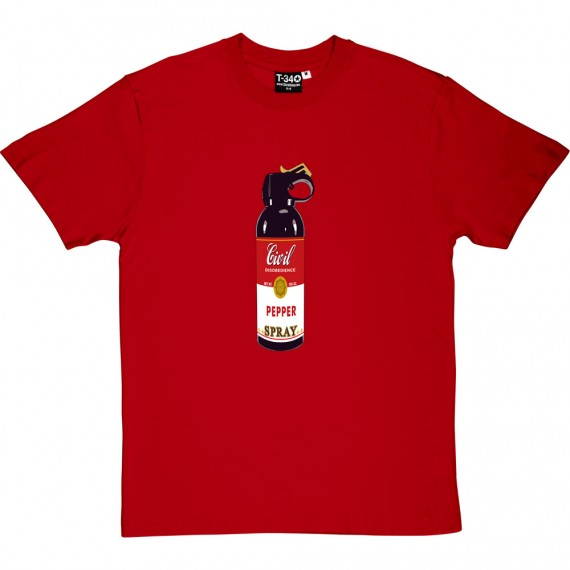 Civil Disobedience Pepper Spray T-Shirt