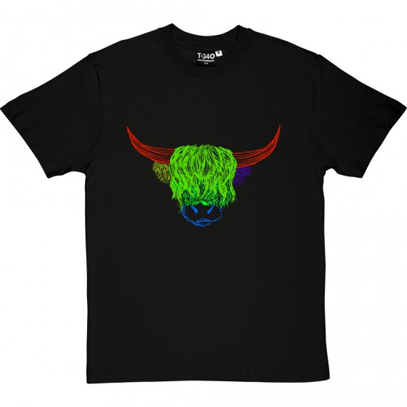 Psychedelic Cattle Variant Four T-Shirt