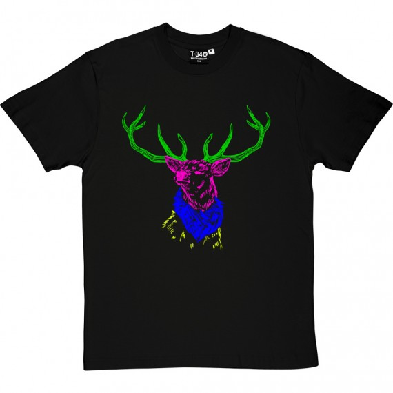Psychedelic Deer Variant Four T-Shirt