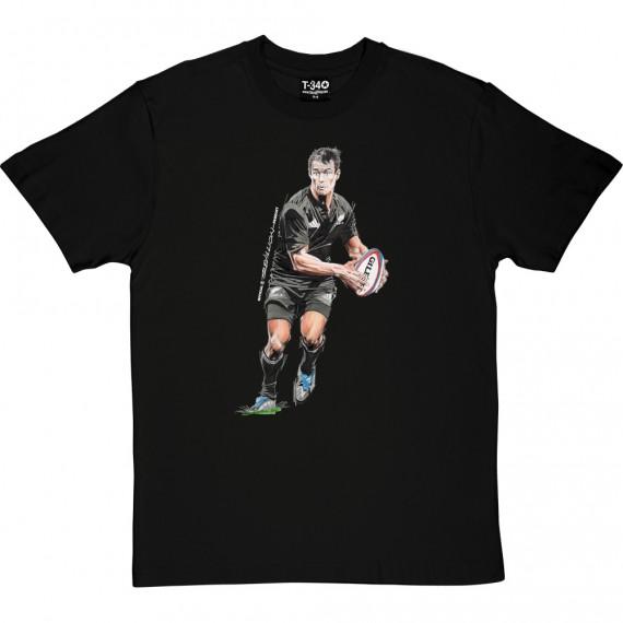 Dan Carter: New Zealand Rugby Legend T-Shirt