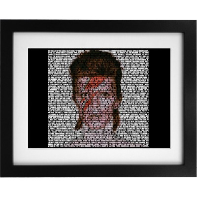 David Bowie Songs Art Print