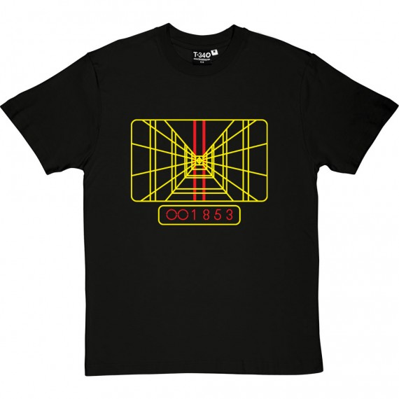 Death Star Targeting Display T-Shirt