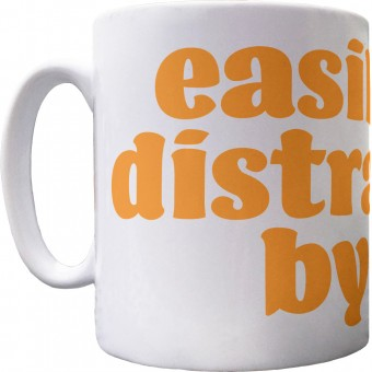 Easily Distracted by Dogs Ceramic Mug