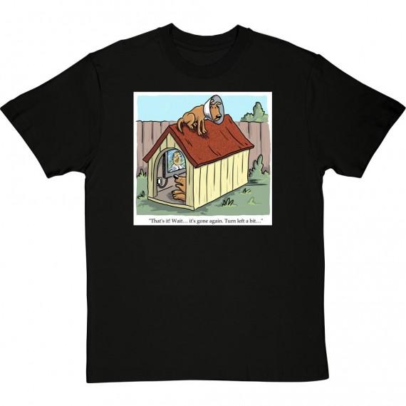 Dog Satellite Dish T-Shirt