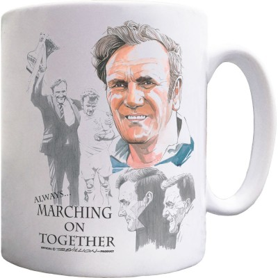 Don Revie Montage Ceramic Mug