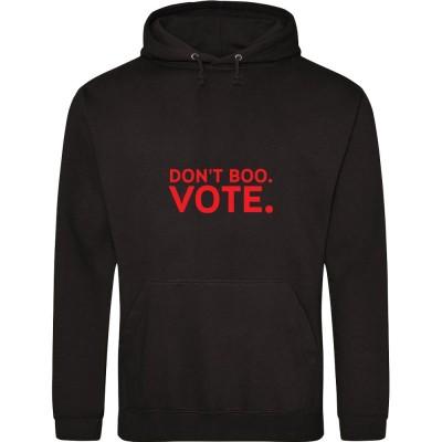 Don't Boo. Vote.