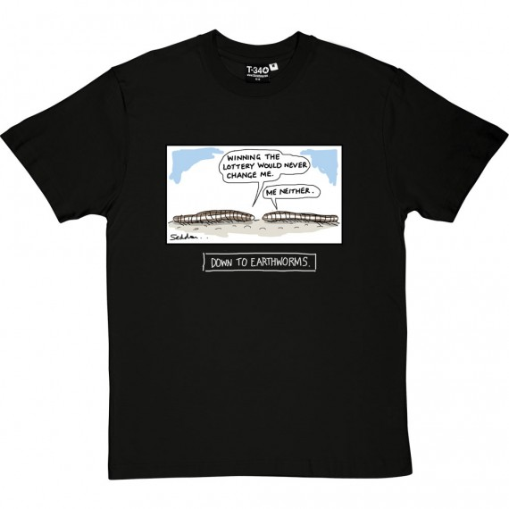 Down To Earthworms T-Shirt