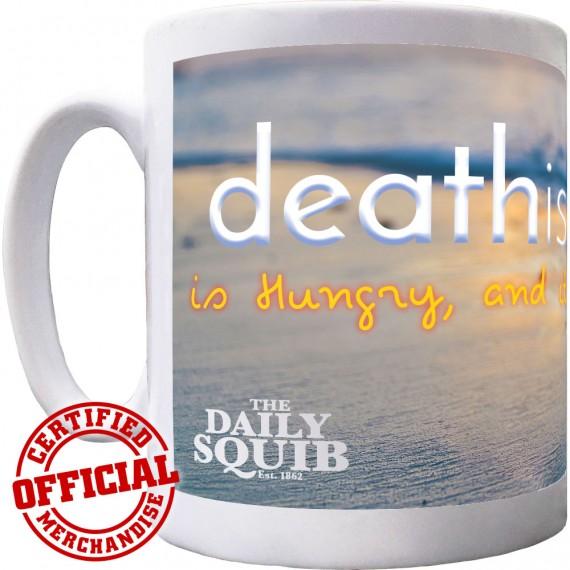Official Daily Squib Death Island Ceramic Mug
