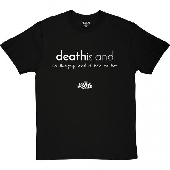 Official Daily Squib Death Island T-Shirt