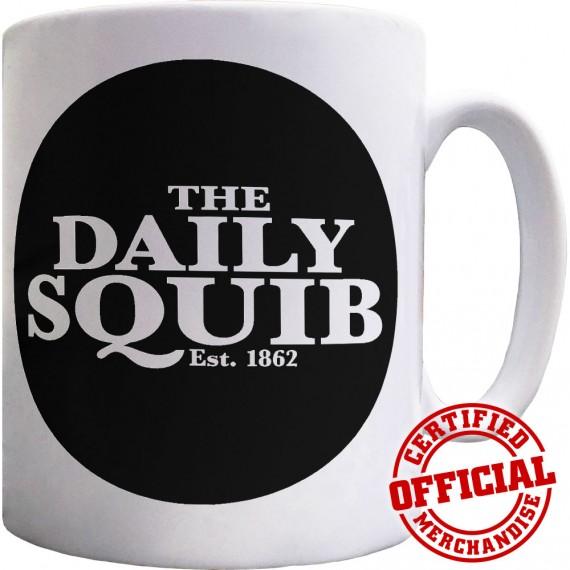 Official Daily Squib Logo Ceramic Mug