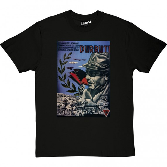 Durruti Poster T-Shirt