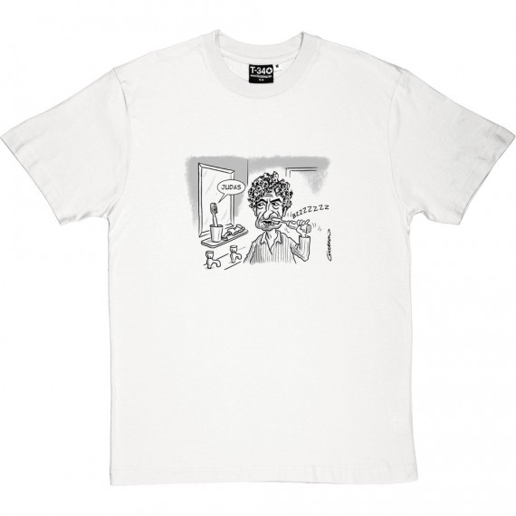 "Bob Dylan ""Judas"" Toothbrush T-Shirt"