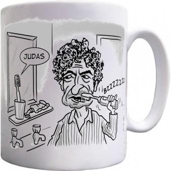 """Bob Dylan """"Judas"""" Toothbrush Mug"""