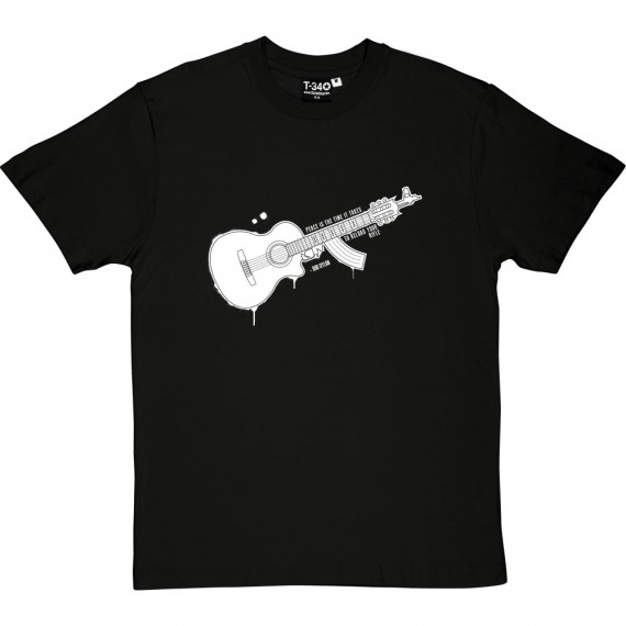 "Bob Dylan ""Peace"" Quote T-Shirt"