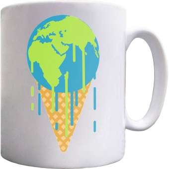 Earth is Melting Ceramic Mug