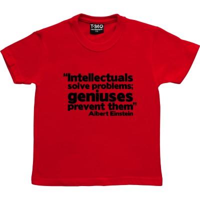 """Albert Einstein """"Genius"""" Quote"""