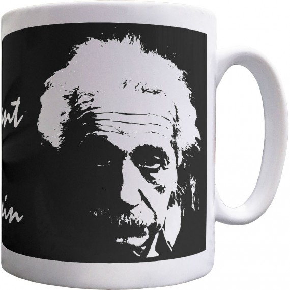 "Albert Einstein ""Imagination"" Quote Ceramic Mug"