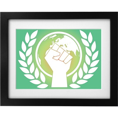 Environmentalist Fist Art Print