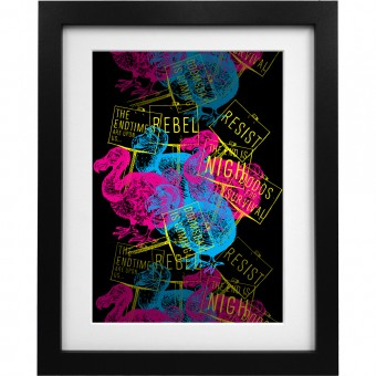 Extinction Rebellion Art Print