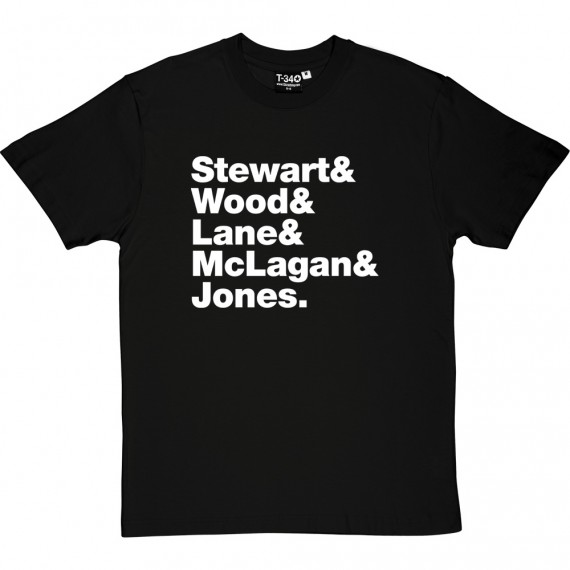 Faces (aka The Faces) Line-Up T-Shirt