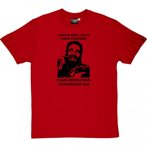 "Fidel Castro ""A-Team"" T-Shirt"