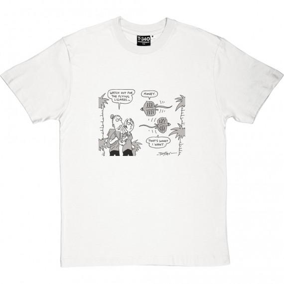 Beware The Flying Lizards T-Shirt