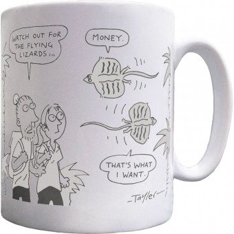 Beware The Flying Lizards Mug