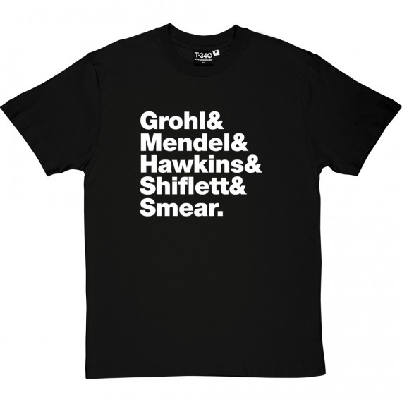Foo Fighters Line-Up T-Shirt