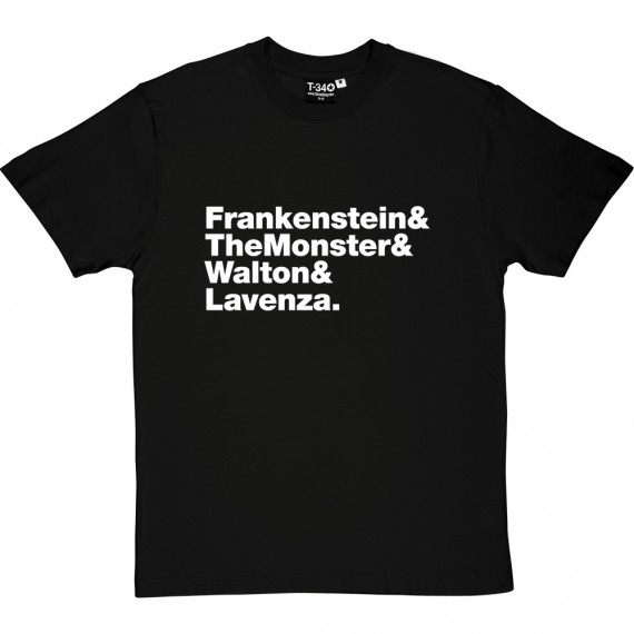 Frankenstein Line-Up T-Shirt