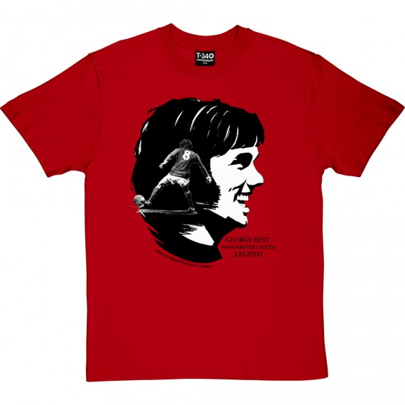 George Best: Manchester United Legend T-Shirt
