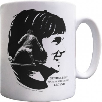 George Best: Manchester United Legend Ceramic Mug