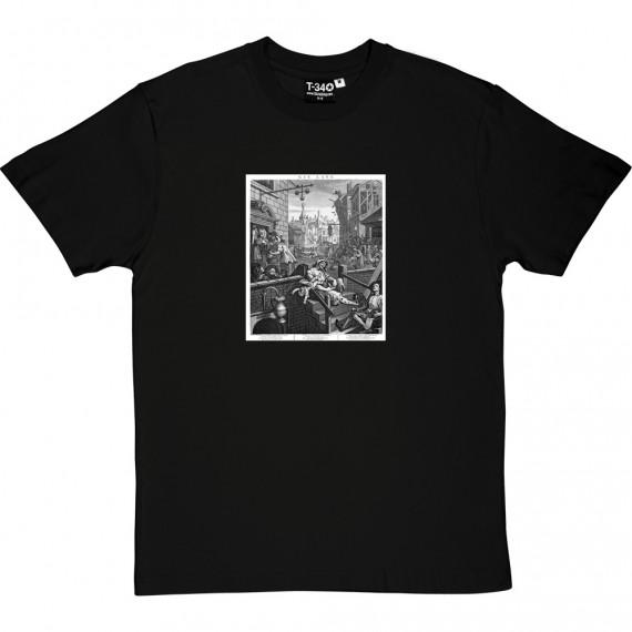 William Hogarth's Gin Lane T-Shirt