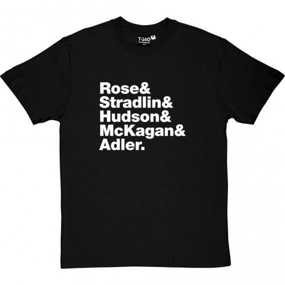Guns N' Roses Line-Up T-Shirt