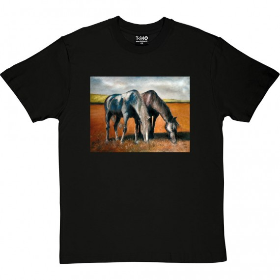 Just Grazing by Hadrian Richards T-Shirt