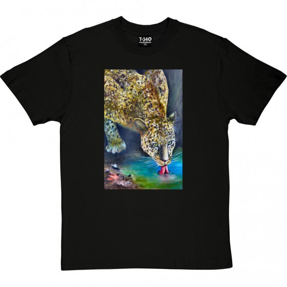 Leopard by Hadrian Richards T-Shirt