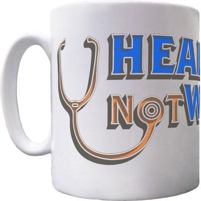 Healthcare Not Warfare Ceramic Mug