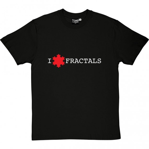 I Love Fractals T-Shirt