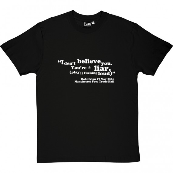"Bob Dylan ""I Don't Believe You"" T-Shirt"
