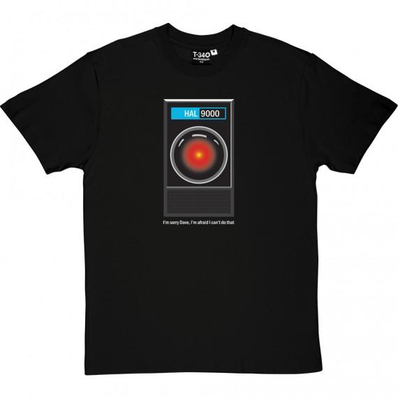 "HAL9000: ""I'm Sorry Dave"" T-Shirt"