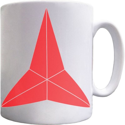 International Brigades Star Ceramic Mug