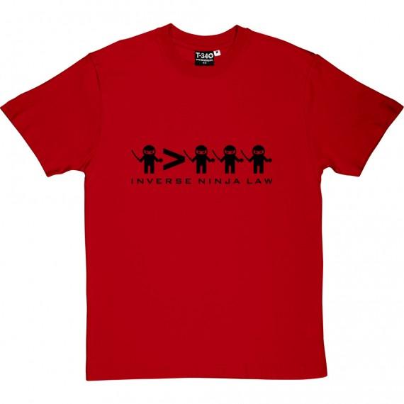 Inverse Ninja Law T-Shirt