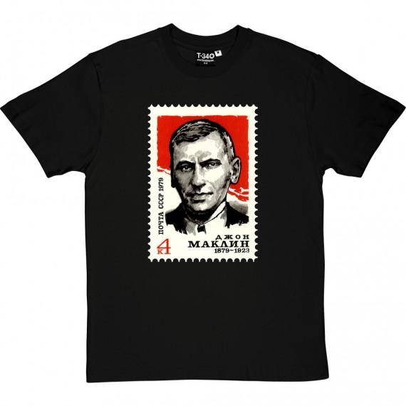 John Maclean Soviet Stamp T-Shirt