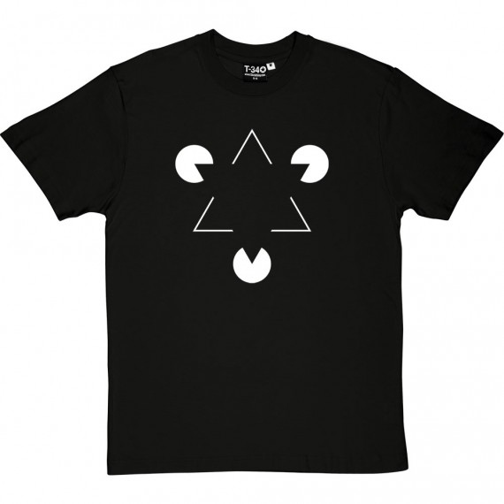 Kanizsa Triangle T-Shirt