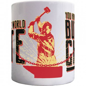 Karl Marx Chains Ceramic Mug