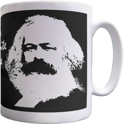"Karl Marx ""Workers"" Quote Ceramic Mug"