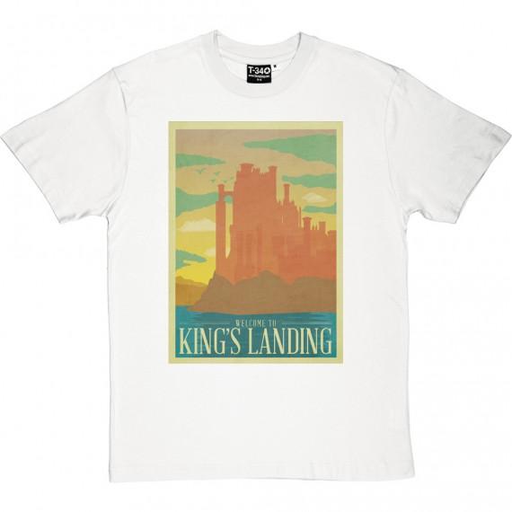 King's Landing Travel Poster T-Shirt