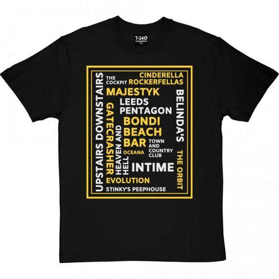 Leeds Nightclubs T-Shirt