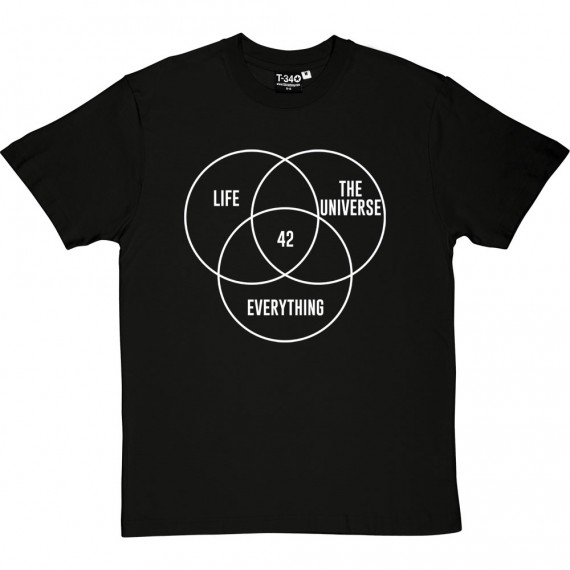 Life, The Universe, and Everything: 42 T-Shirt