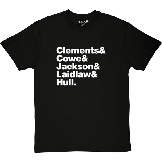 Lindisfarne Line-Up T-Shirt